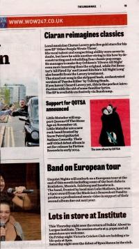 Lurgan Mail - September 2013 (European Tour)